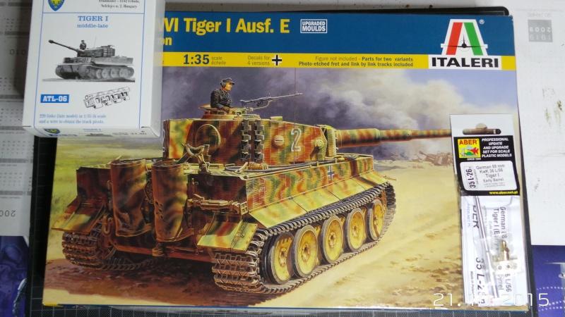 Montage et premier pas à pas pour Tiger I Italeri 1/35 20151010