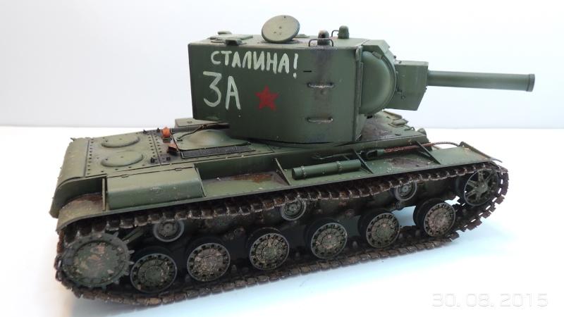 Char russe KV-2 - Zvezda 3608 - 1/35 Kv2-111