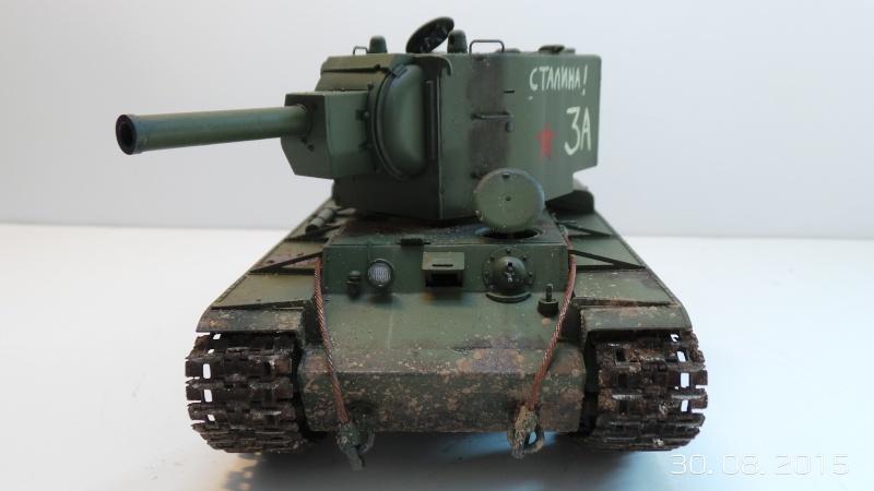 Char russe KV-2 - Zvezda 3608 - 1/35 Kv2-210