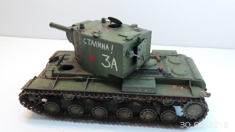 Char russe KV-2 - Zvezda 3608 - 1/35 Kv2-310