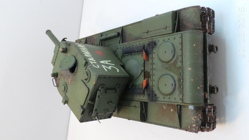 Char russe KV-2 - Zvezda 3608 - 1/35 Kv2-410