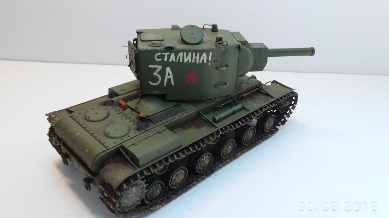 Char russe KV-2 - Zvezda 3608 - 1/35 Kv2-510