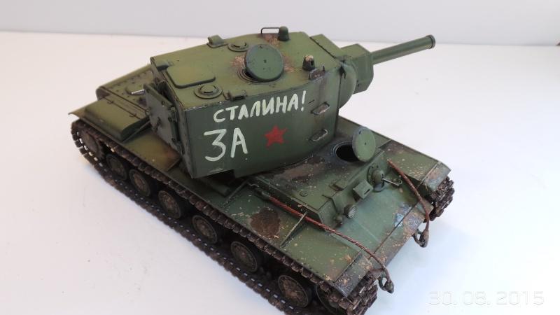 Char russe KV-2 - Zvezda 3608 - 1/35 Kv2-610