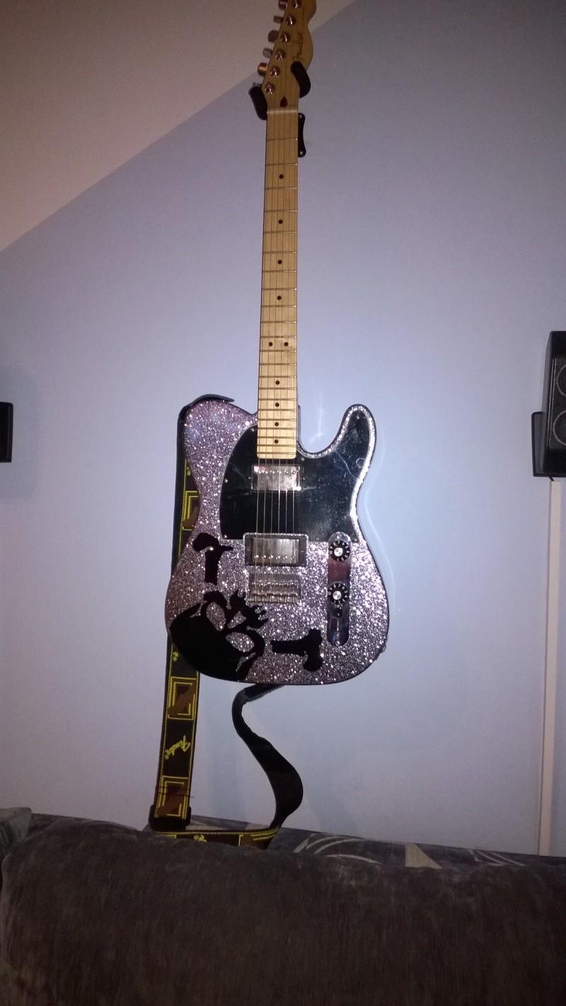 """[PROJECT] Fender Telecaster Blacktop HH """"Haruna Model""""  Wp_20111"""