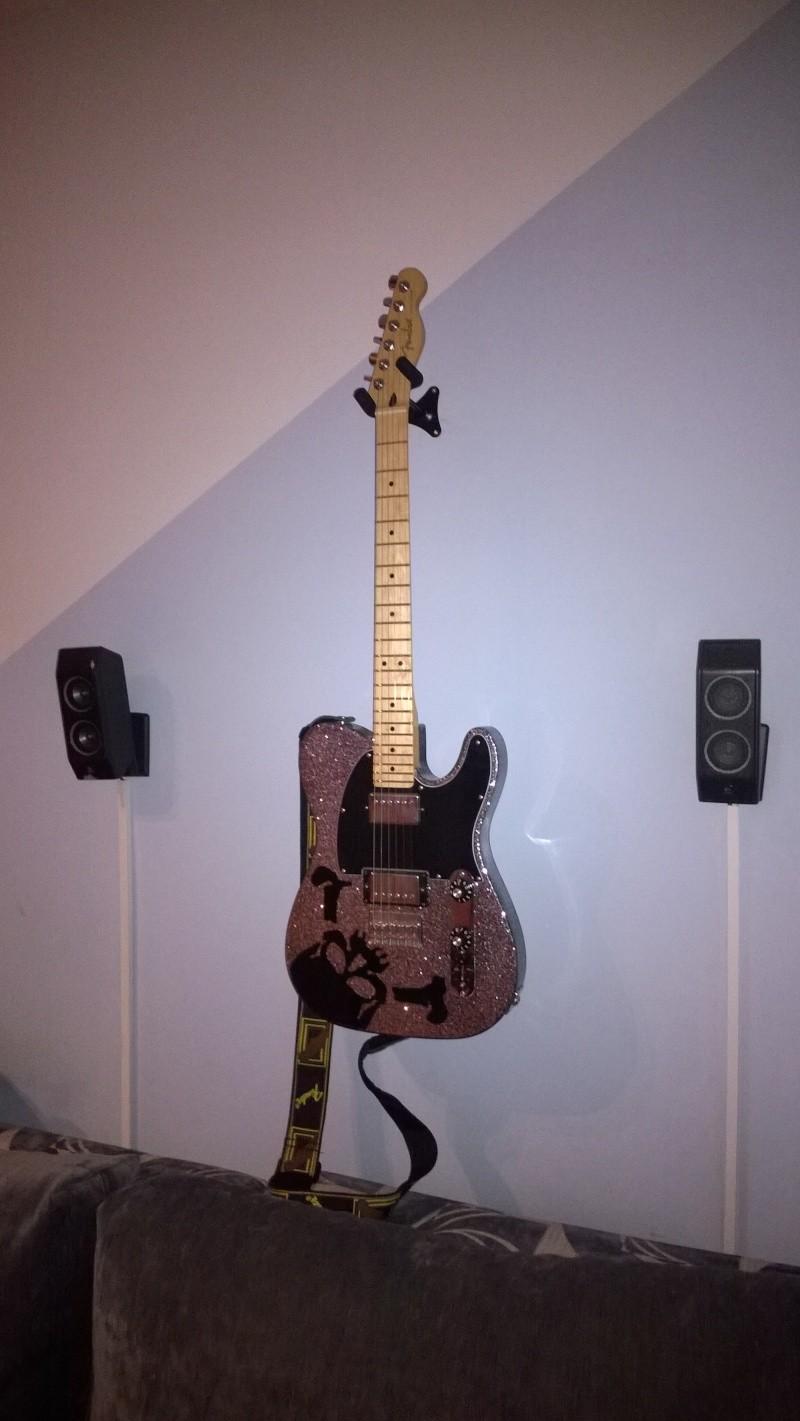 """[PROJECT] Fender Telecaster Blacktop HH """"Haruna Model""""  Wp_20112"""
