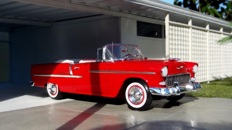 """1955 Chevy Bel Air """"classique"""" ** Terminée ** 1014"""