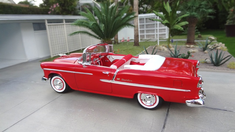 """1955 Chevy Bel Air """"classique"""" ** Terminée ** 814"""