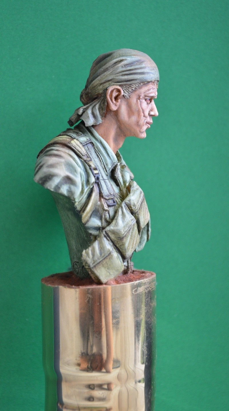 bust Staff Sergeant US Army 25th Infantry Division, Vietnam  Dsc_0023
