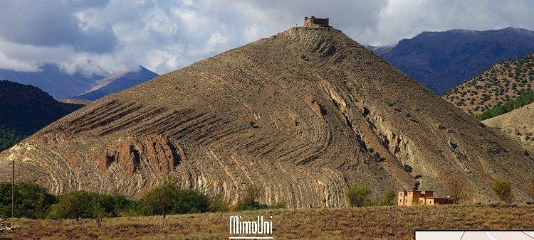 Azilal vallée Ait bouguemez carte photos et vue satellite Ait_bo12