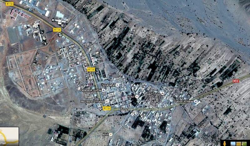 Alnif haut Atlas le village  a structure de ville Alnif_11