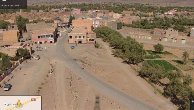 Alnif haut Atlas le village  a structure de ville Alnif_12
