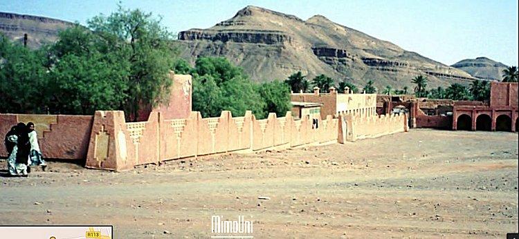 Alnif haut Atlas le village  a structure de ville Alnif_13