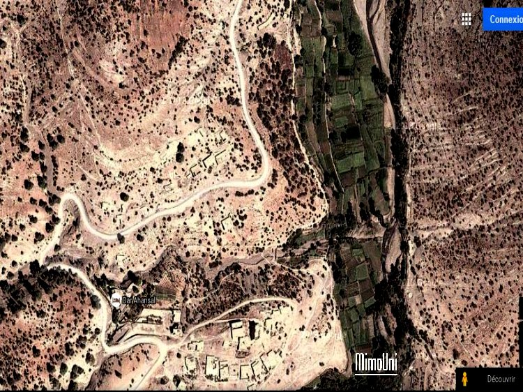 Azilal vallée Ait bouguemez carte photos et vue satellite Azilad10