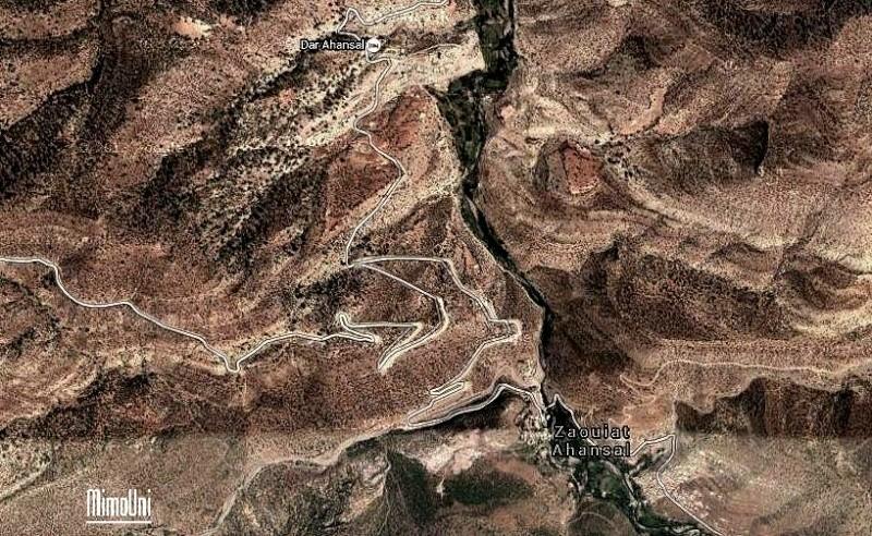photos - Azilal vallée Ait bouguemez carte photos et vue satellite Darahn10