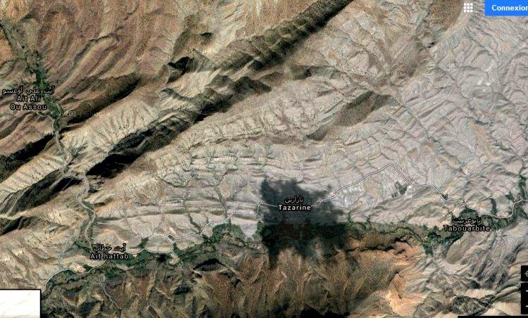 tazarine ! on a tenté de vous la cacher, elle n'a plus de secret ce paradis Amazigh Tazari11