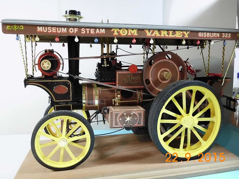 "Bandai - Showman Tractor ""Tom Varley"" (Locomobile) in 1/16 - Galerie 127"