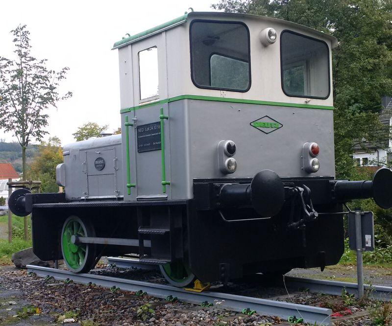 Deutz - Denkmals - Diesellok in Werdohl/Westfalen  1311