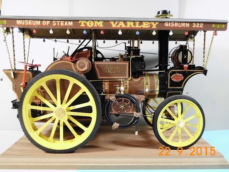 "Bandai - Showman Tractor ""Tom Varley"" (Locomobile) in 1/16 - Galerie 223"