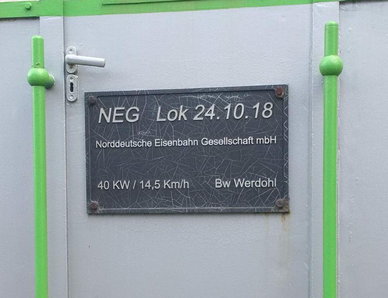Deutz - Denkmals - Diesellok in Werdohl/Westfalen  224