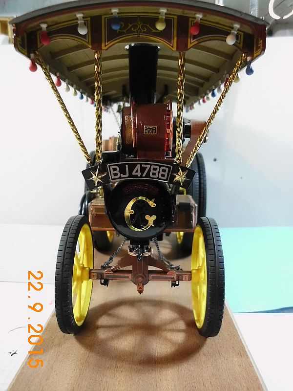 "Bandai - Showman Tractor ""Tom Varley"" (Locomobile) in 1/16 - Galerie 319"