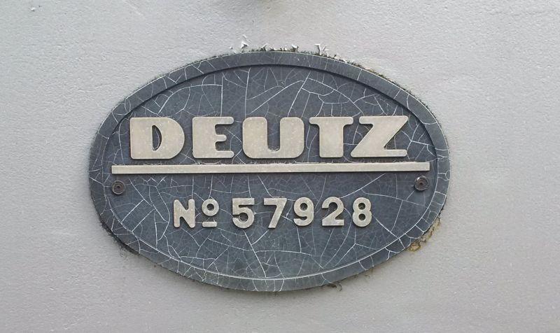 Deutz - Denkmals - Diesellok in Werdohl/Westfalen  320