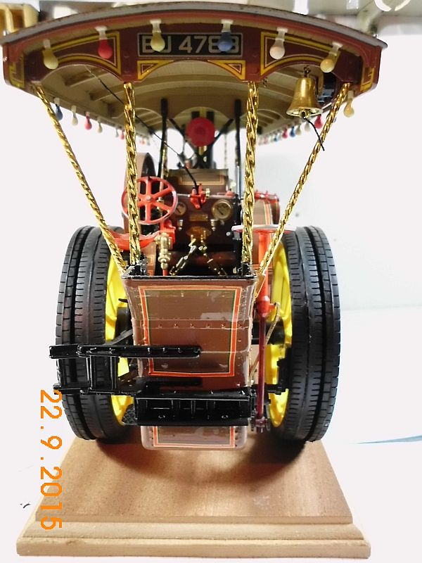 "Bandai - Showman Tractor ""Tom Varley"" (Locomobile) in 1/16 - Galerie 415"