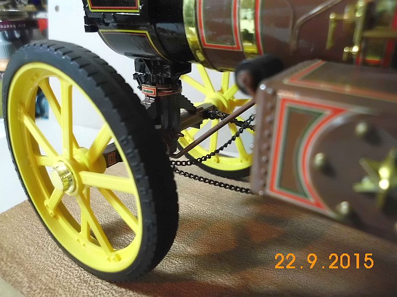 "Bandai - Showman Tractor ""Tom Varley"" (Locomobile) in 1/16 - Galerie 612"