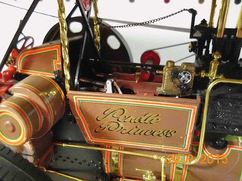 "Bandai - Showman Tractor ""Tom Varley"" (Locomobile) in 1/16 - Galerie 711"