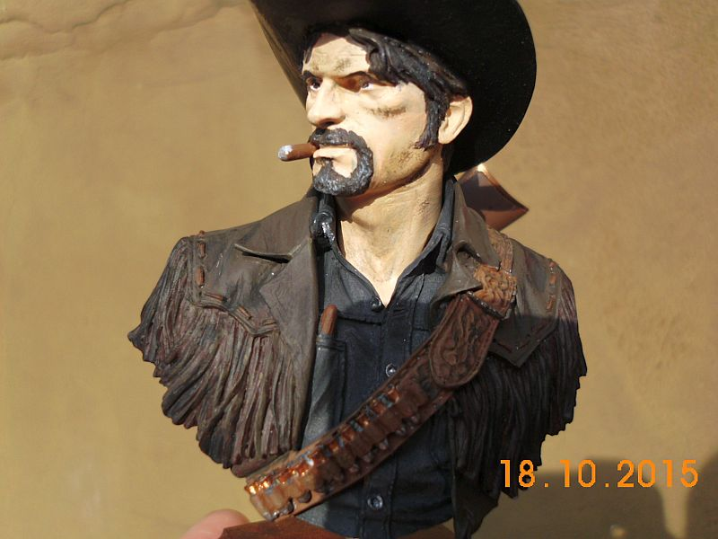 """Young Miniatures YH 1835 """"Wild West"""" - Resin Büste 1/10 - Galerie C5a10"""