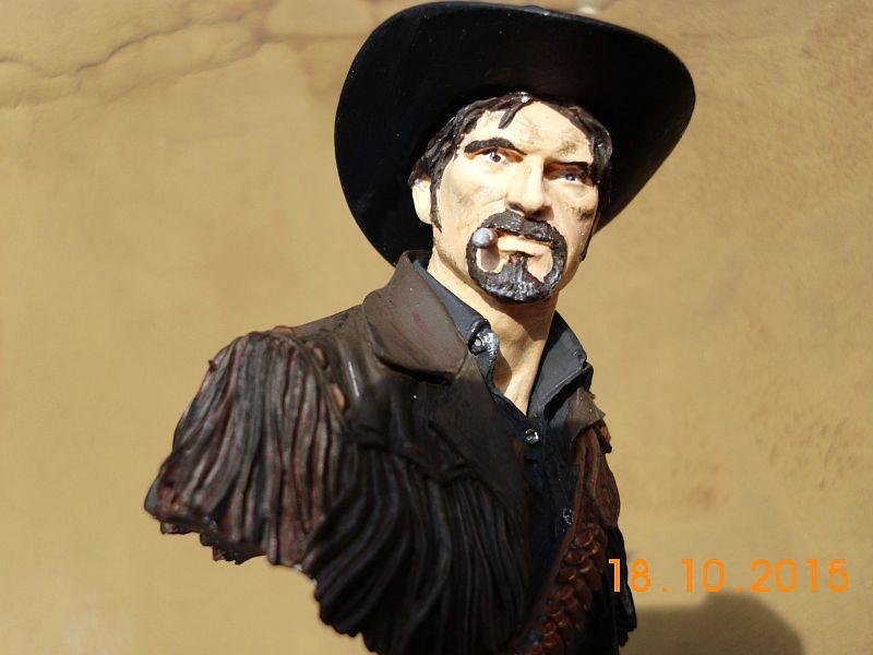 "Young Miniatures YH 1835 ""Wild West"" - Resin Büste 1/10 - Galerie C610"