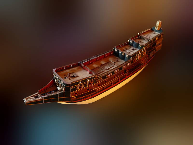 Baubericht Sovereign of the Seas P1070416