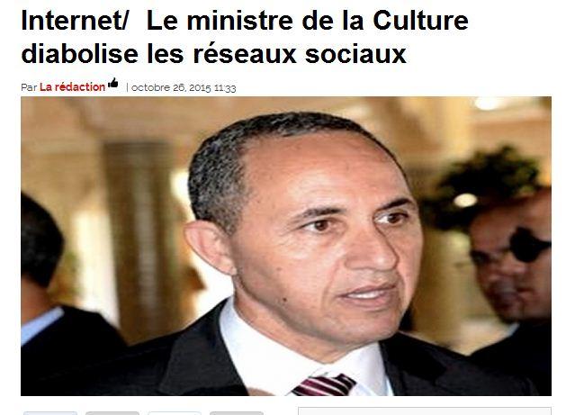 La stabilité de l'Algerie est en danger d'apres son ministre Azzedine Mihoubi Bladi_13