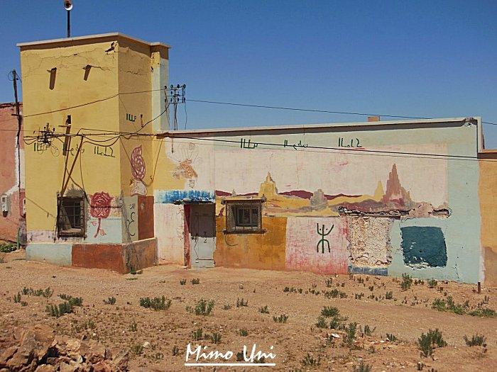 carte Mibladen le pays de la vanaldinite berbere Miblad17