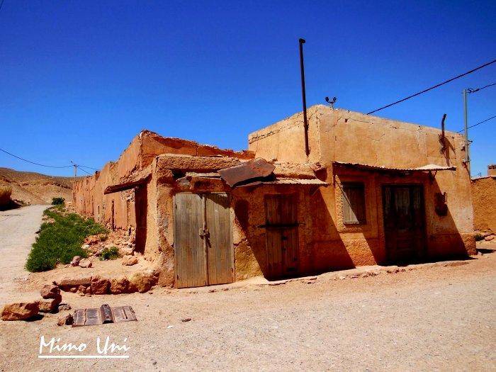 carte Mibladen le pays de la vanaldinite berbere Miblad19