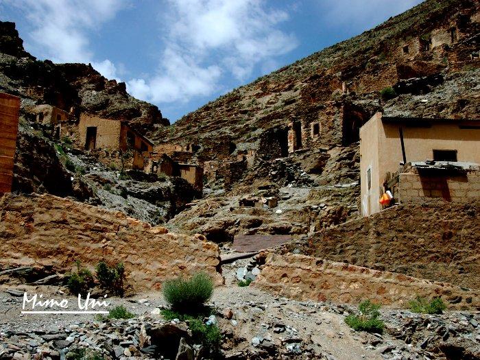 carte Mibladen le pays de la vanaldinite berbere Midelt10