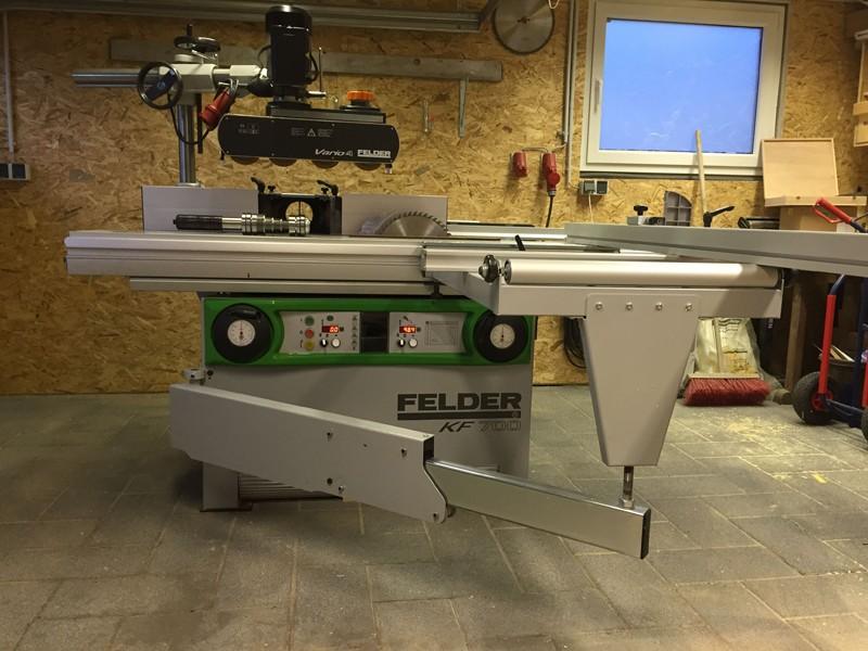 Avis sur achat machines d'occasion FELDER Kreiss11