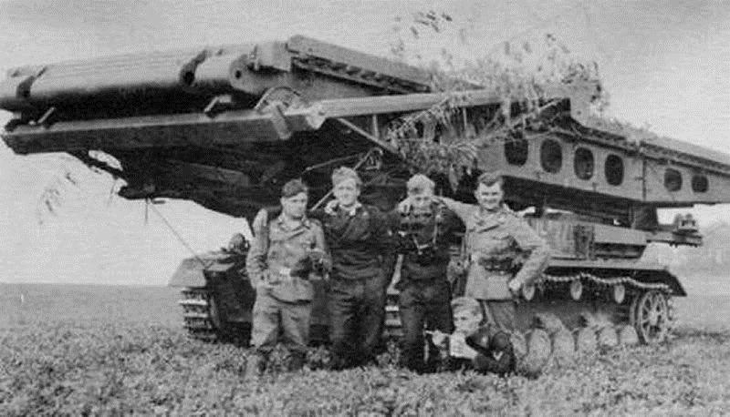 BRUCKENLEGER IV b - Carro gettaponte tedesco 210