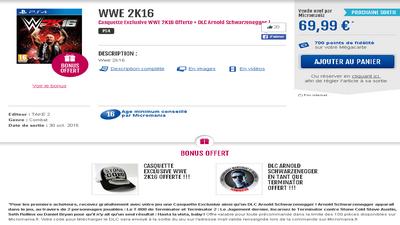 WWE 2K16: Infos de la précommande sur le PS Store et autre Captur10