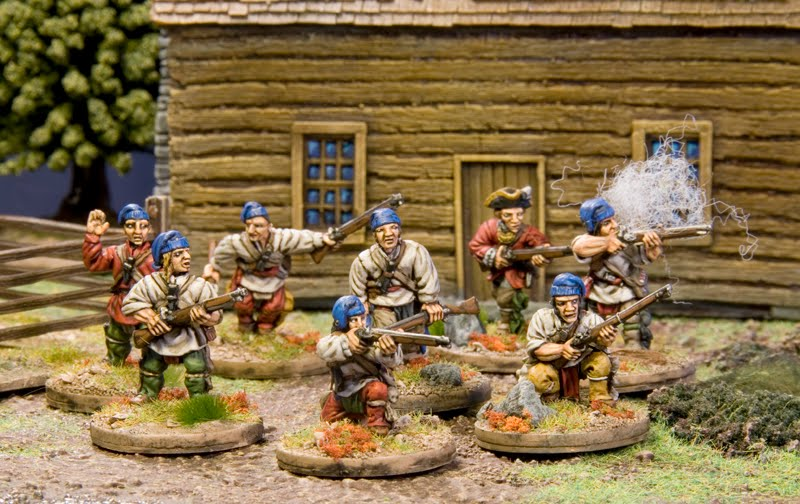 Mousquet & Tomahawk : La règle. Militi10