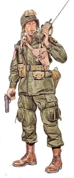 Parachutistes Américains (1940 1945) Offici10