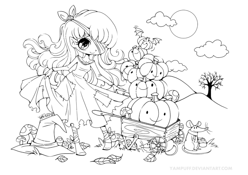 Halloween Coloring Contetest Hallow10