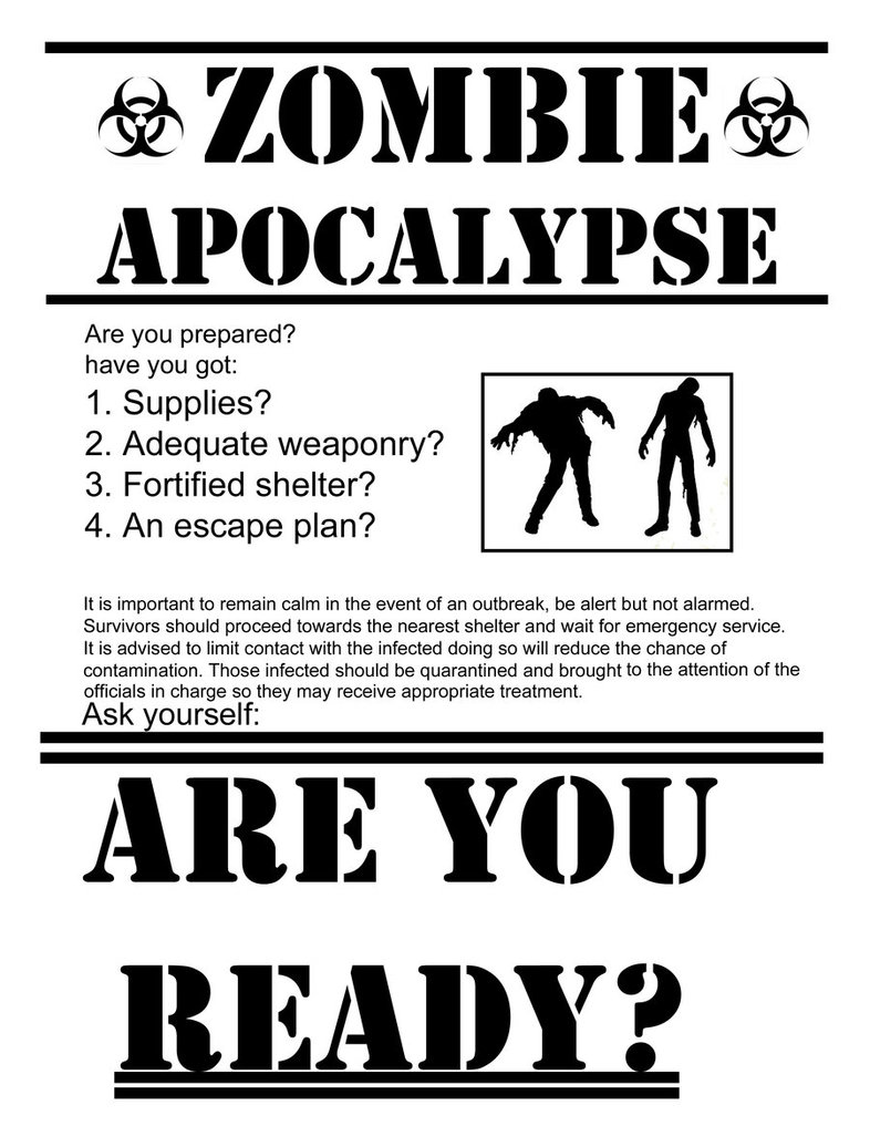 What would you do in a zombie apocalypse? Zombie10