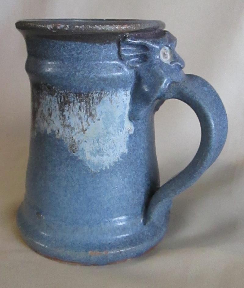 gargoyle - Gargoyle Tankard was made by Flax Gully Pottery in Golden Bay. Img_3339