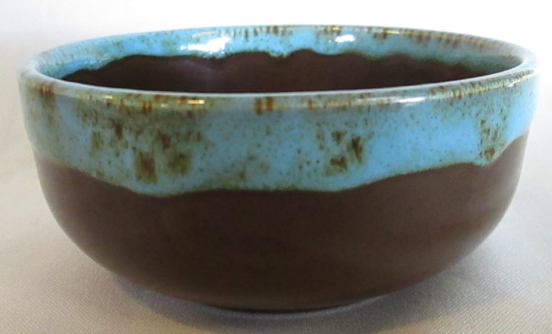 Turquiose Glazed bowl Img_3452