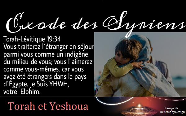 Exode des Syriens les fils d'Aram Exode_10