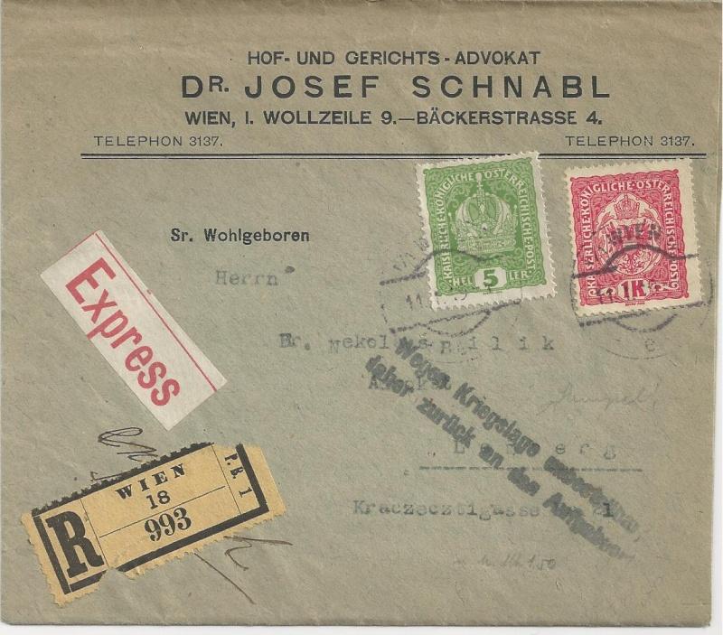 Inflation in Österreich - Belege - 1918 bis 1925 - Seite 5 Bild18