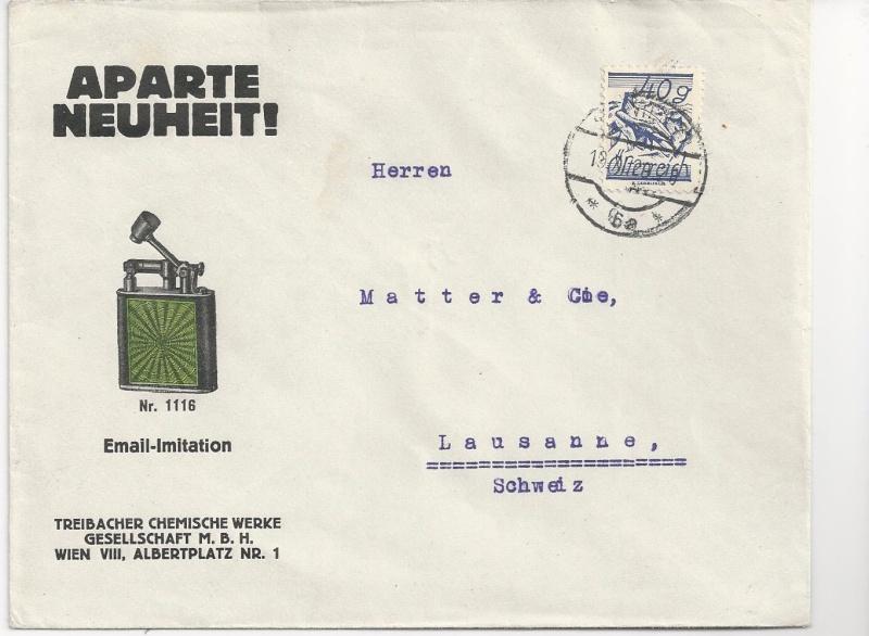 Werbeumschläge und -karten aus Österreich - Seite 4 Bild23