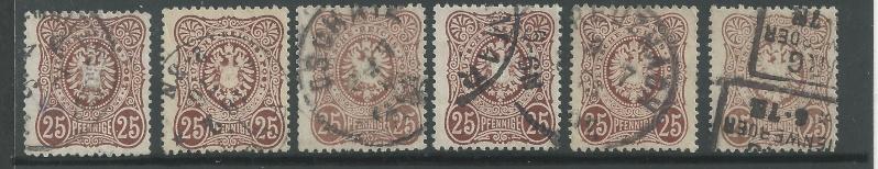1875 bis 1899 -Pfennige/Pfennig/Krone und Adler Bild25