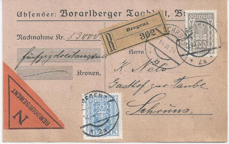 Inflation in Österreich - Belege - 1918 bis 1925 - Seite 5 Bild34