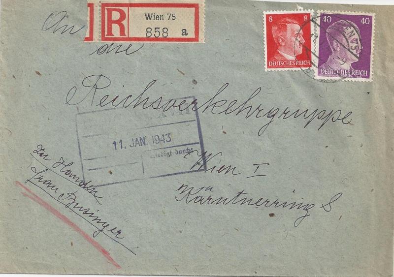 Österreich im III. Reich (Ostmark) Belege - Seite 6 Bild41